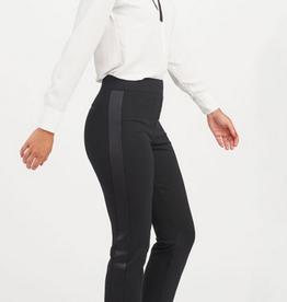 spanx ankle tuxedo slim straight black