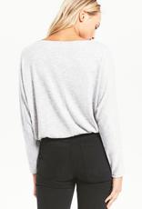 z supply the dollie slub sweater