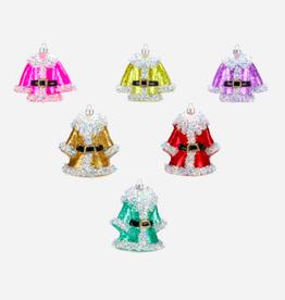 santas coat ornament FINAL SALE