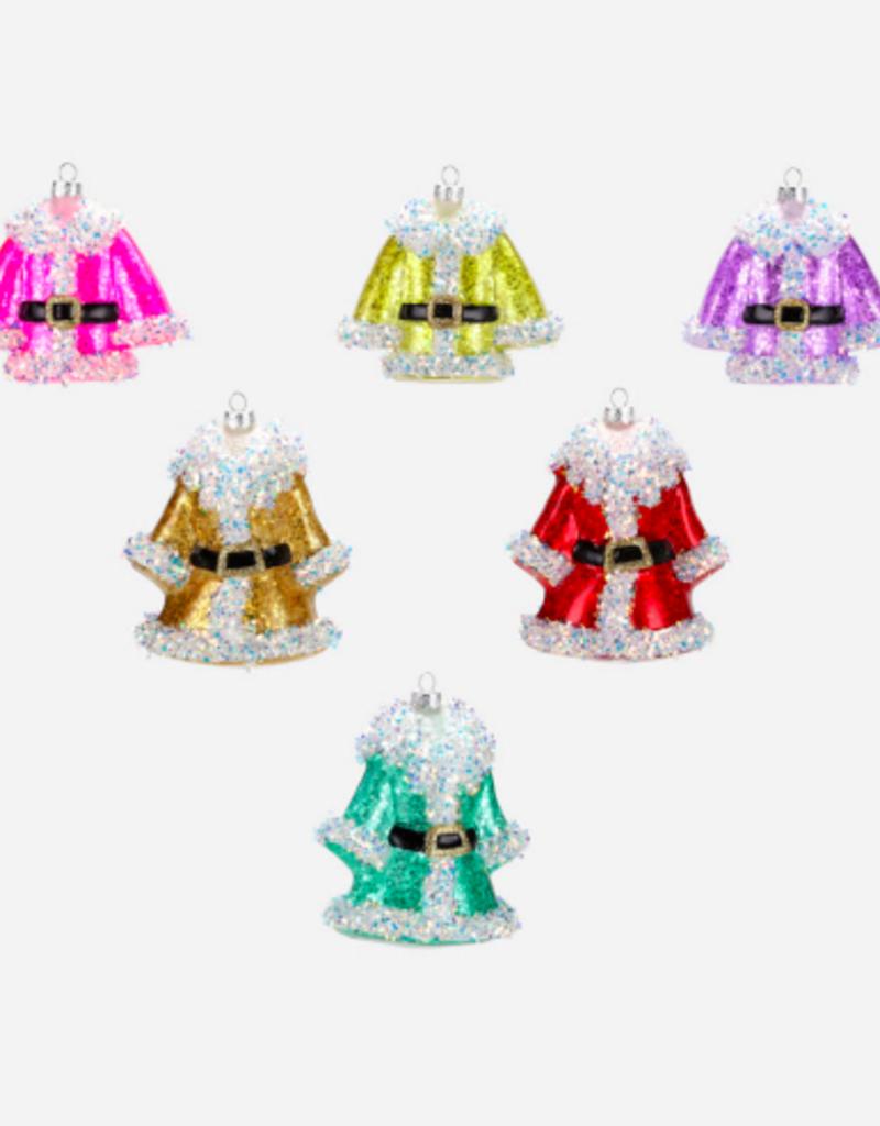 santas coat ornament