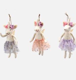unicorn tutu ornament FINAL SALE