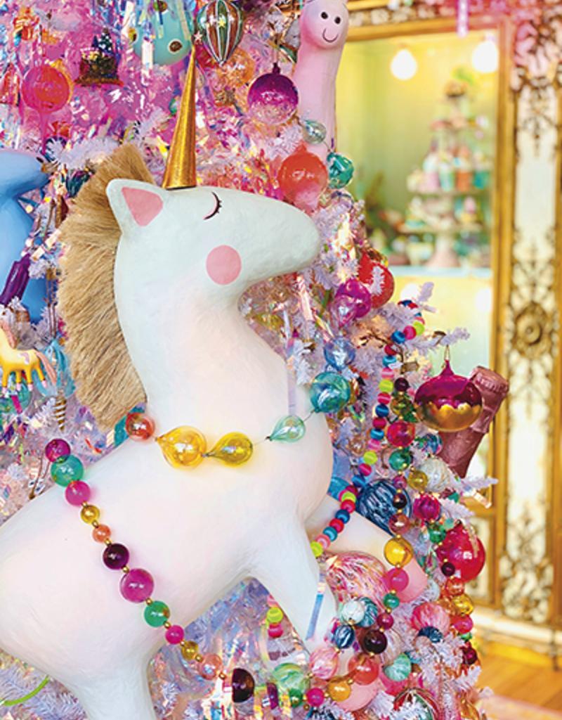 papermache unicorn