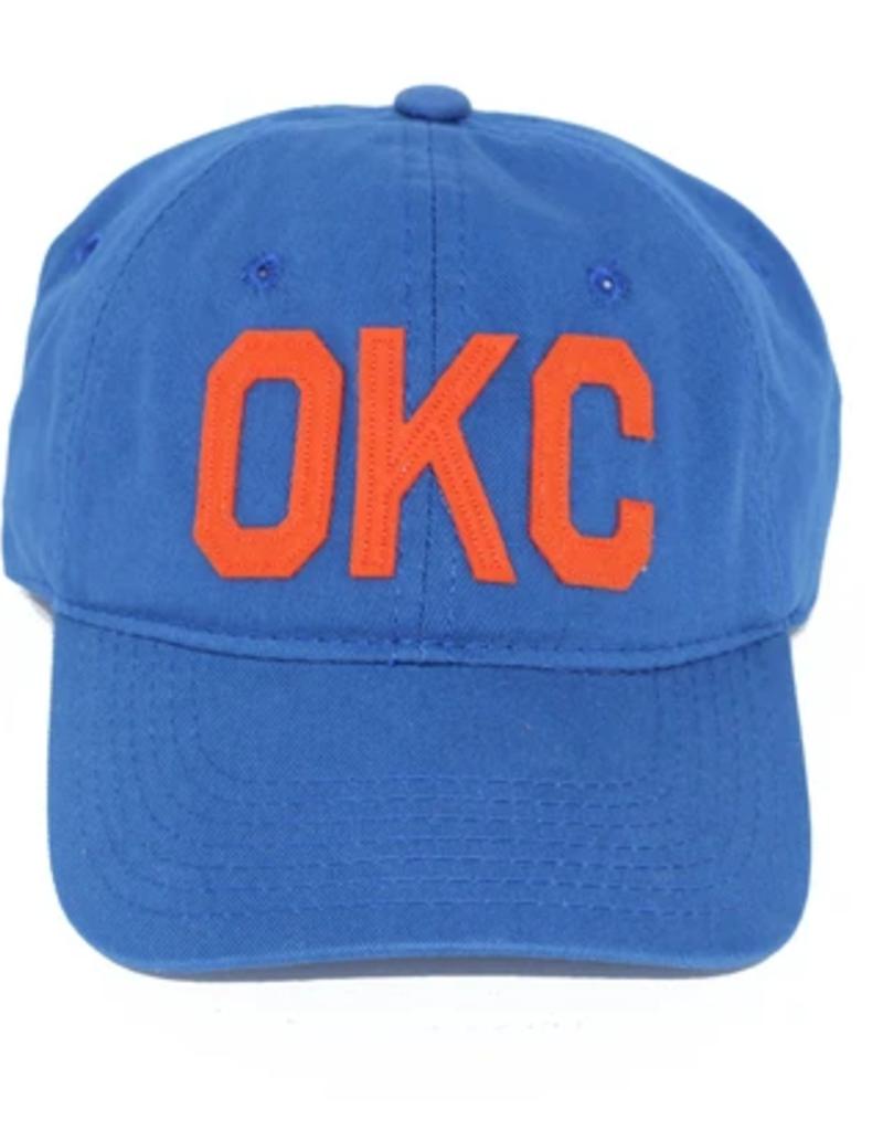 aviate okc hat thunder blue