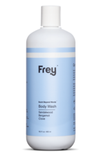 frey 16oz body wash sandalwood/bergamot/clove