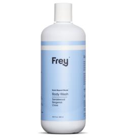 frey 16oz body wash sandalwood/bergamot/clove