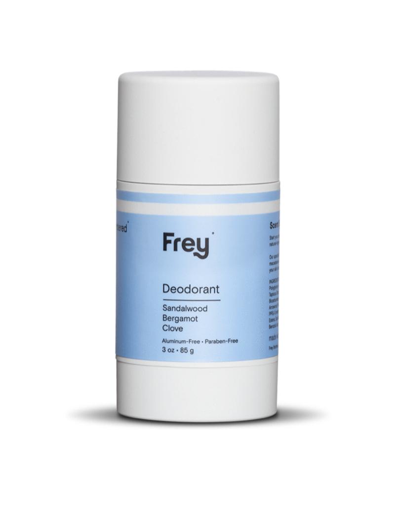 frey deodorant sandalwood/bergamot/clove