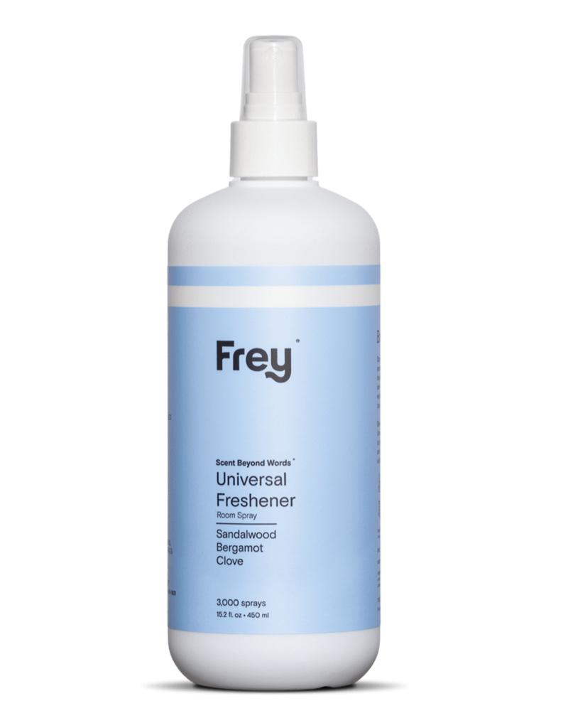 frey universal linen & air freshener - sandalwood/bergamot/clove 16oz