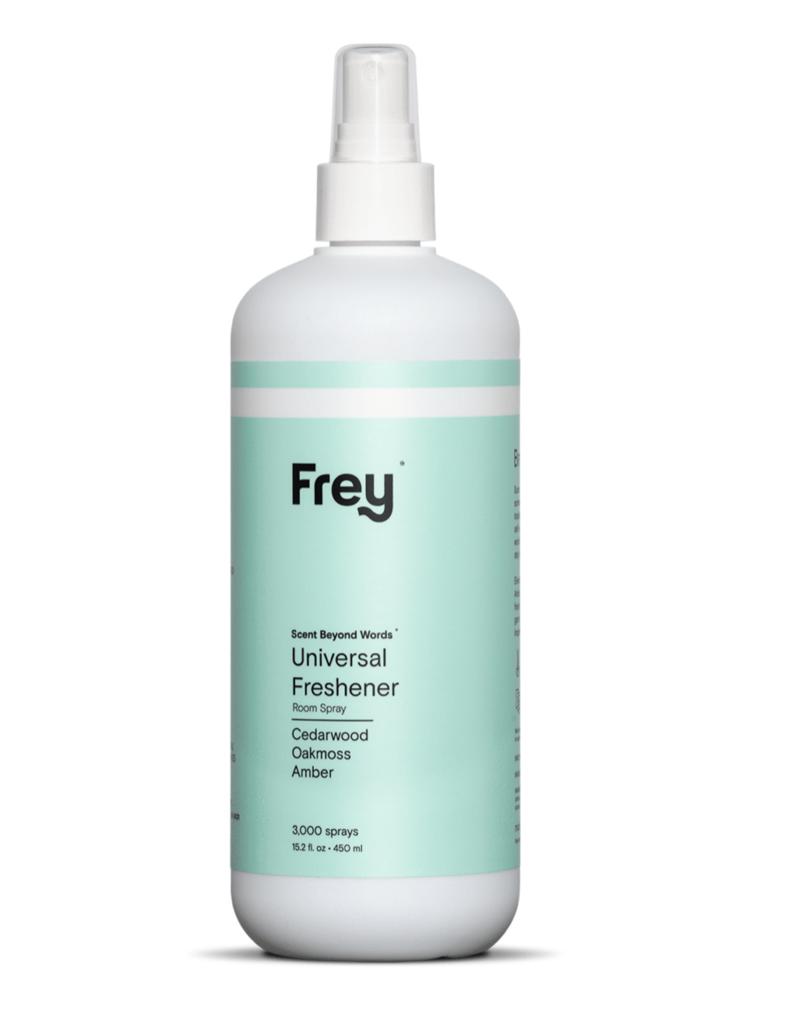 frey universal linen & air freshener - oakmoss/cedarwood/amber 16oz