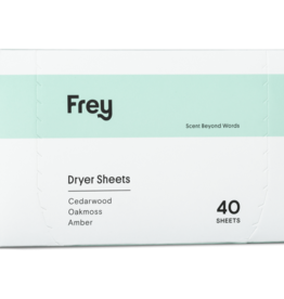 frey cedarwood/oakmoss/amber dryer sheets 40ct