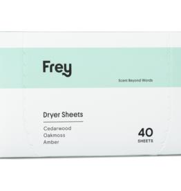frey oak & musk dryer sheets 40ct