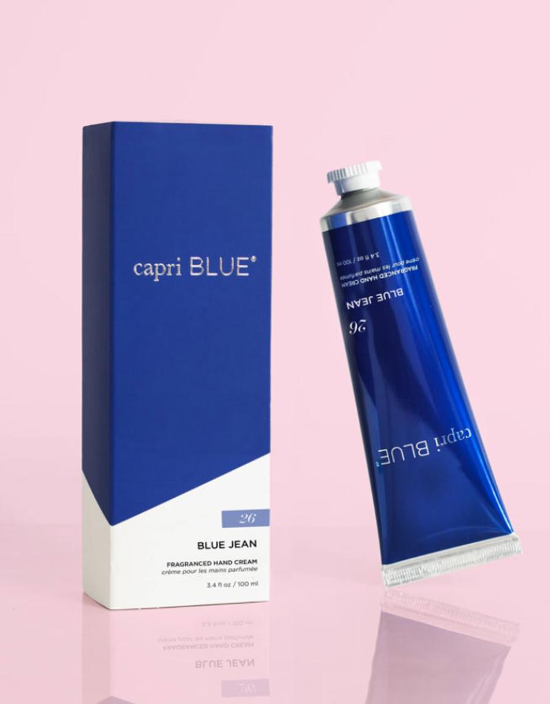 capri blue blue jean hand cream 3.4oz