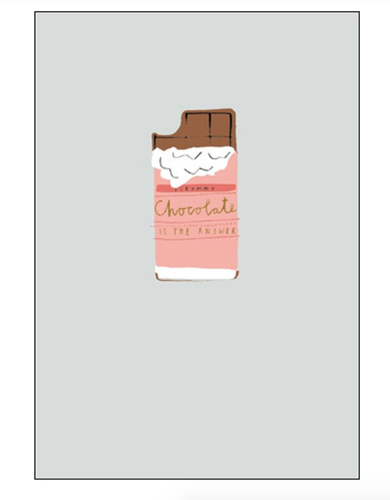 chocolate solution card