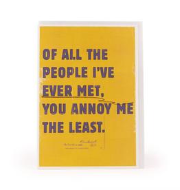 ever met card