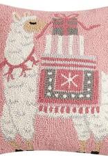 christmas llama pillow