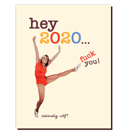 offensive and delightful f**k 2020 card