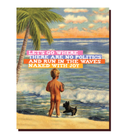 offensive and delightful run in the waves card