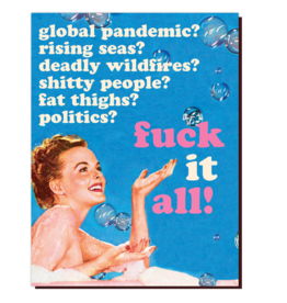 offensive and delightful f**k it all card