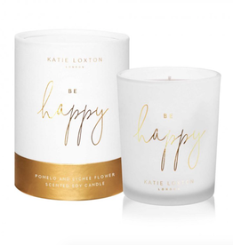 be happy candle