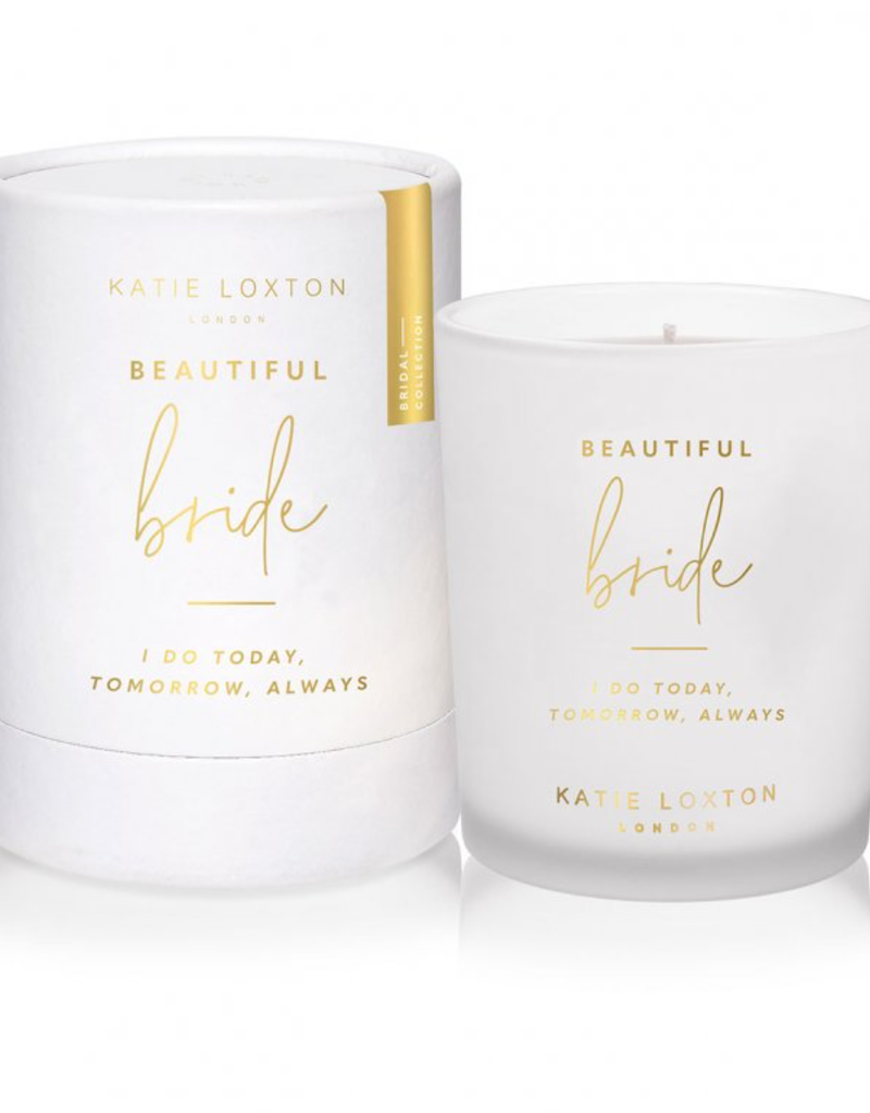 beautiful bride candle