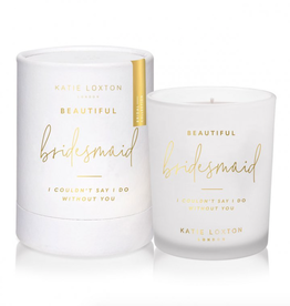 beautiful bridesmaid candle