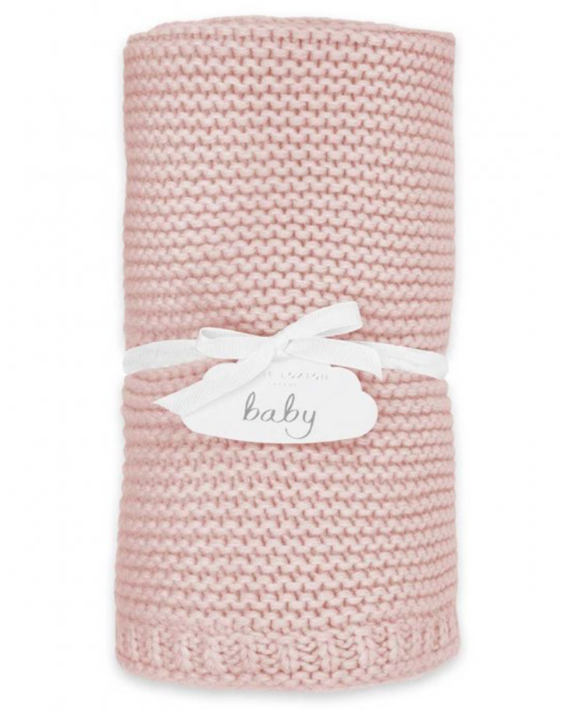 cotton knitted baby blanket