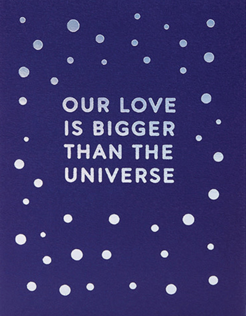 Calypso cards our love universe card