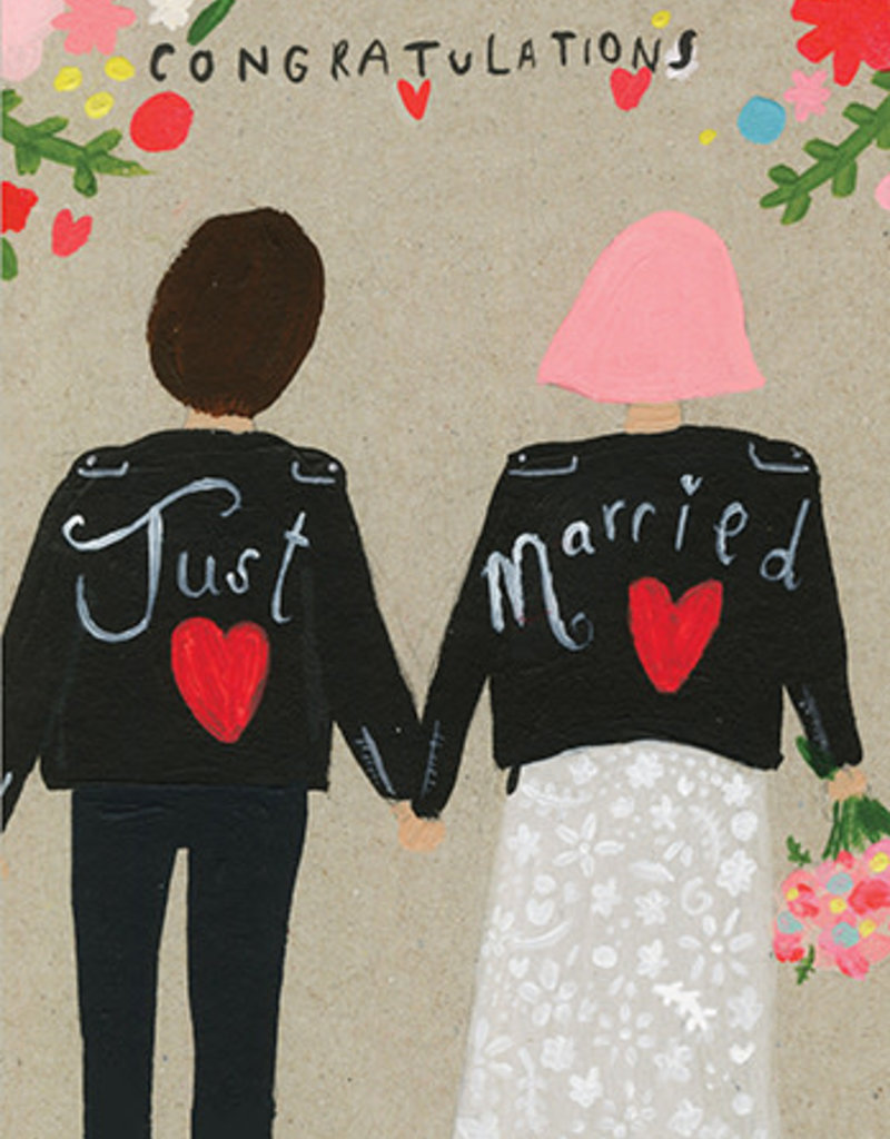 Calypso cards just married card