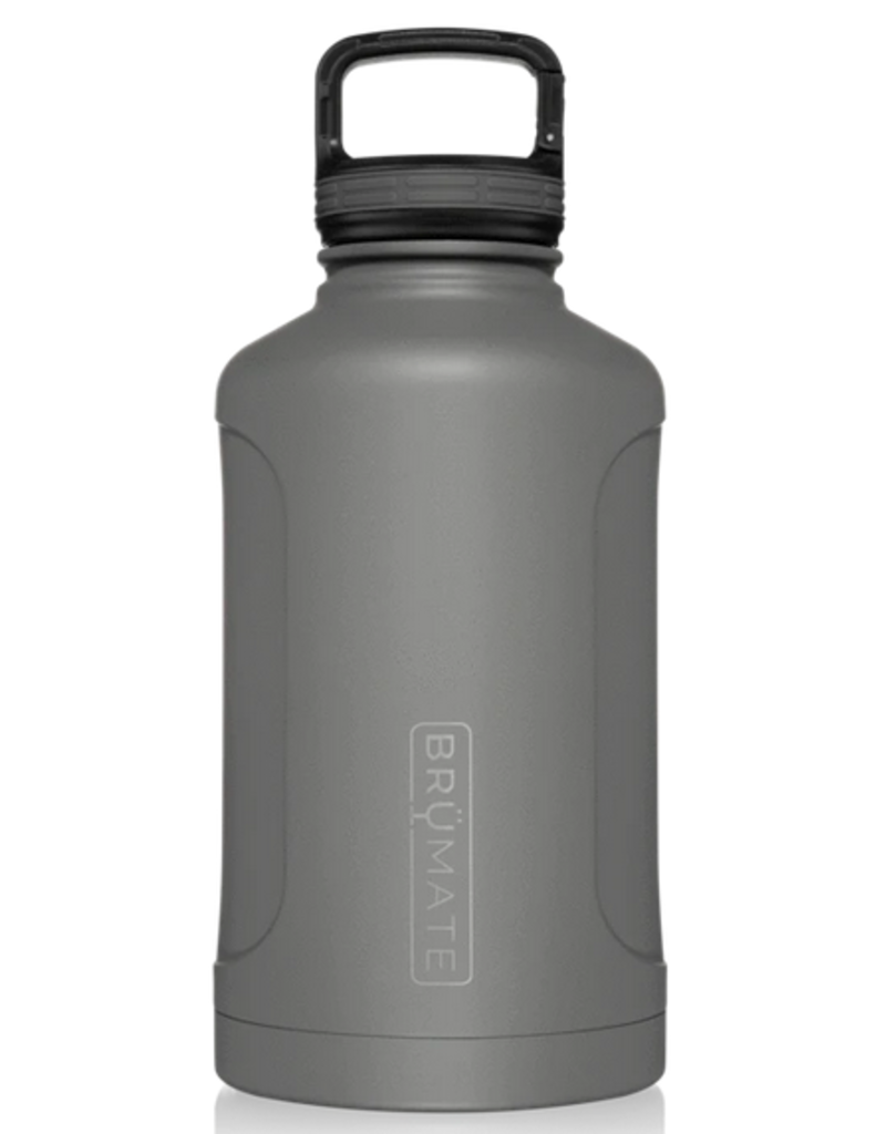 Brümate growlr 64oz canister - matte grey