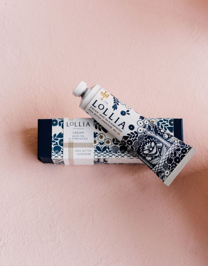 lollia dream travel size handcream