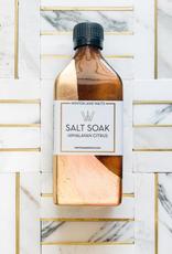 large salt soak