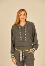 vintage havana star cord sweater knit  hoodie
