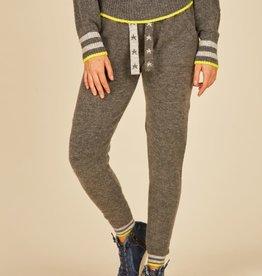 vintage havana star cord sweater knit jogger