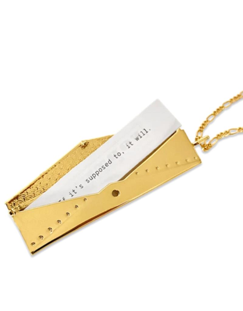 envelope fortune locket