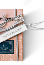 honeycomb fortune locket