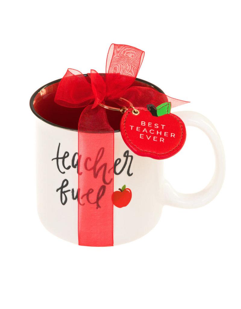 teacher mug & keychain set