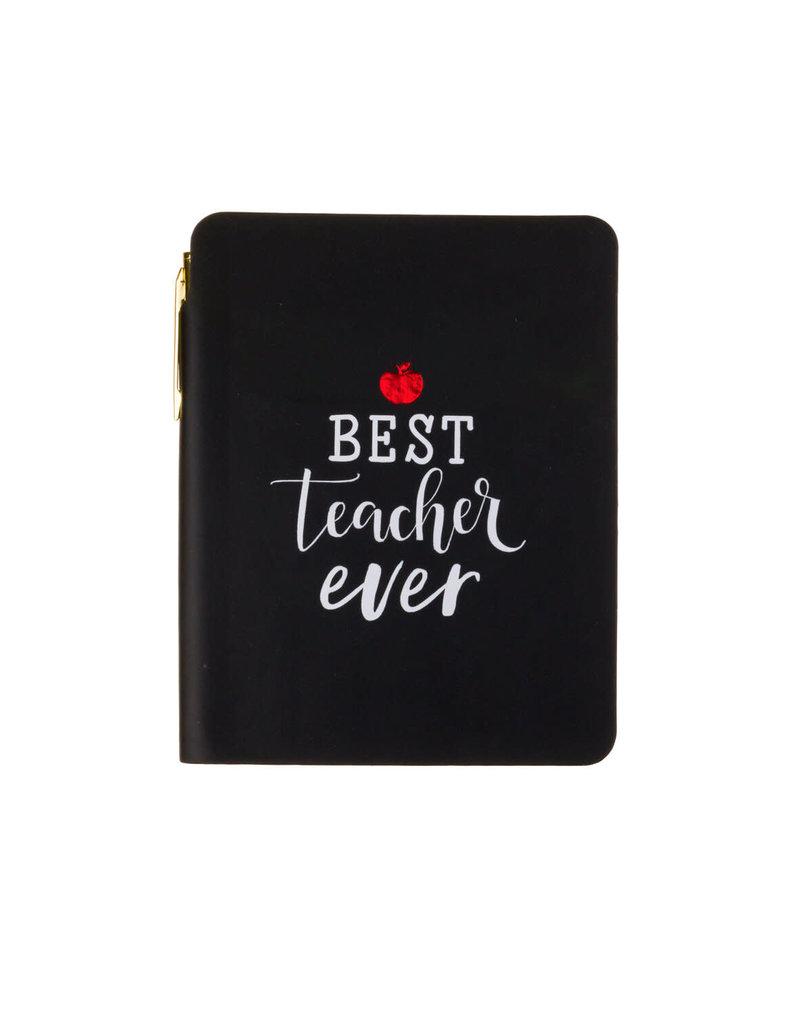 pocket journal & pen - teacher