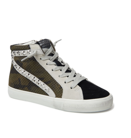 vintage havana kayla camo hightop sneaker