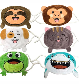 kids plush mask FINAL SALE