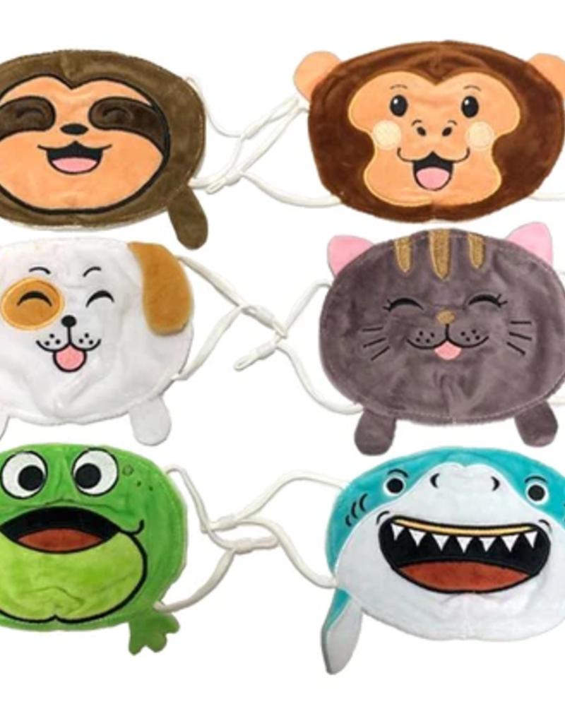 kids plush mask final sale