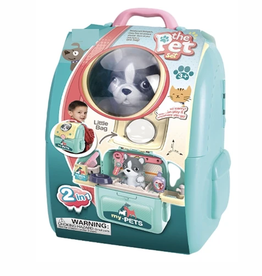 portable pet groomer playset