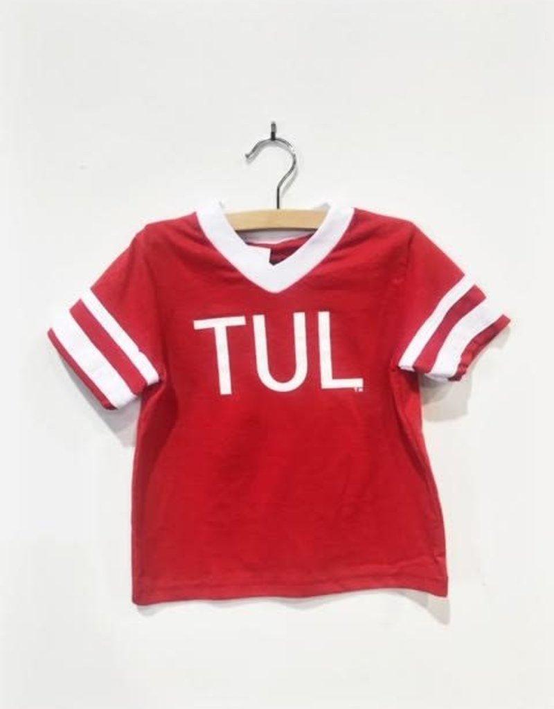 R+R youth TUL jersey stripe tee