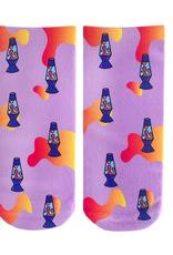 lava lamp ankle socks