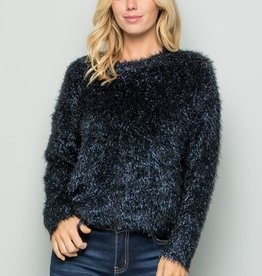 See and be Seen lurex sweater