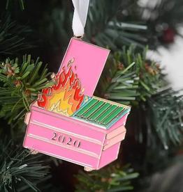 2020 dumpster fire ornament