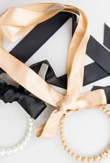 violet & brooks audrey pearl headband+necklace final sale