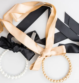 violet & brooks audrey pearl headband+necklace
