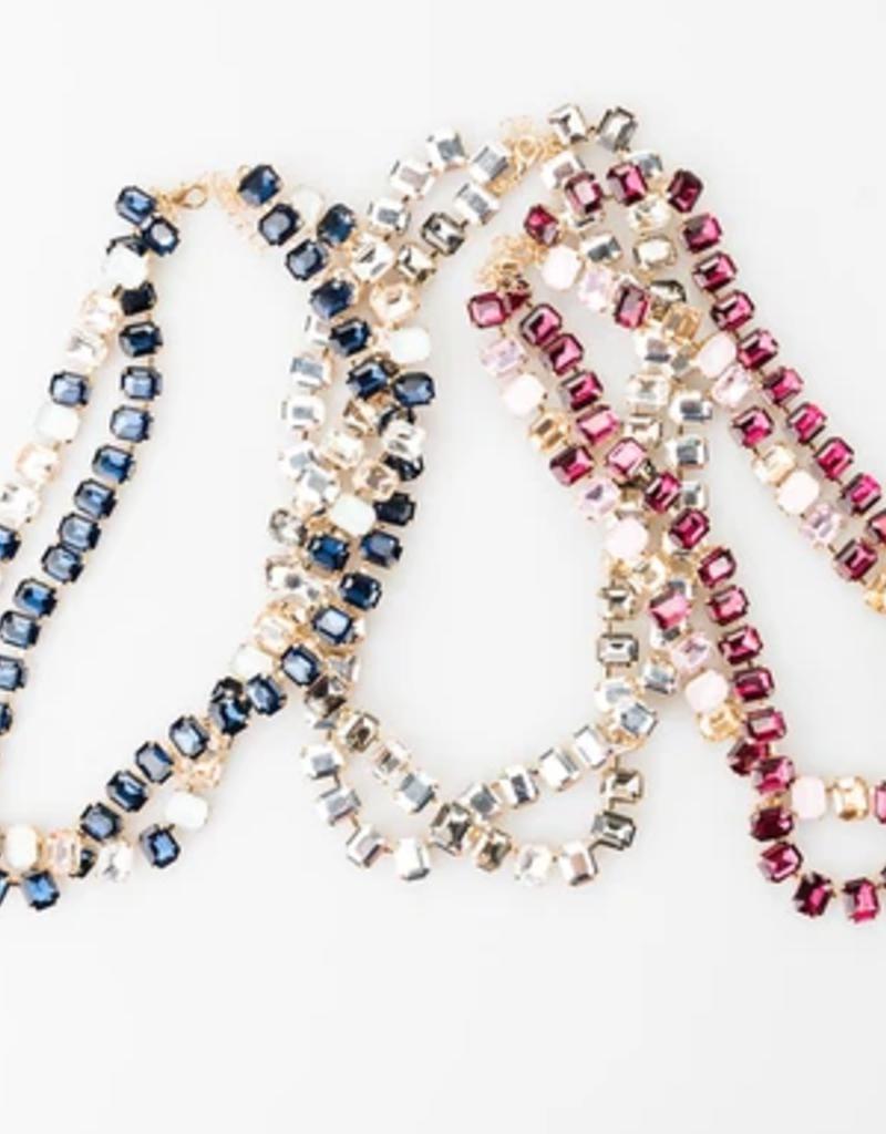 violet & brooks aurora gemstone necklace