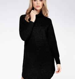 dex turtleneck sweater dress final sale