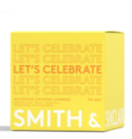 Smith & Sinclair let's celebrate alcoholic cocktail gummies