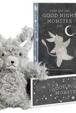 goodnight monster book & plush